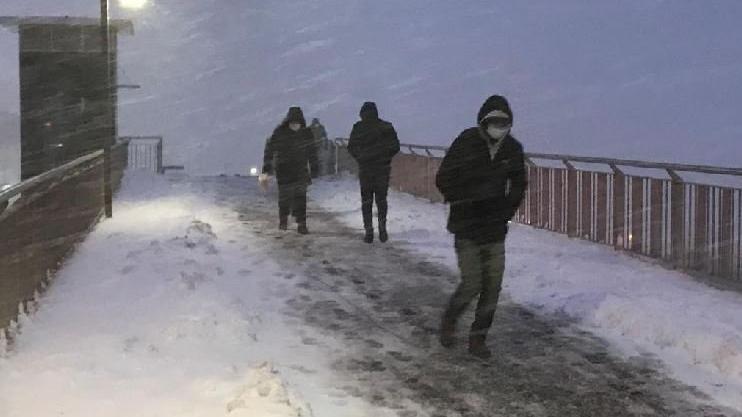 İstanbul'da sistemin en etkili günü... Yoğun kar!