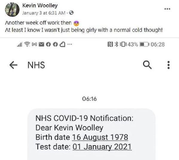 Sosyal medyadan esprili bir dille koronavirüse yakalandığını açıklayan adam, bir gün sonra hayatını kaybetti
