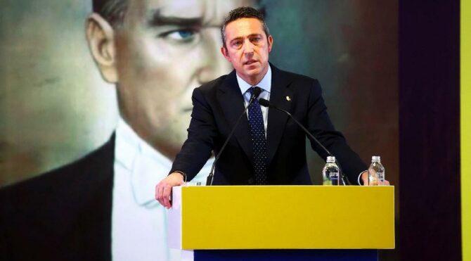Fenerbahçe Başkanı Ali Koç'tan krizde Oscar'lık yönetim