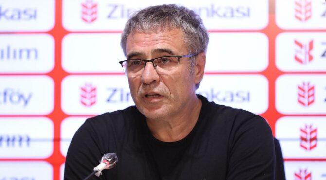 Ersun Yanal'dan Beşiktaş'a gözdağı: 'Bizi yenmek kolay değil'