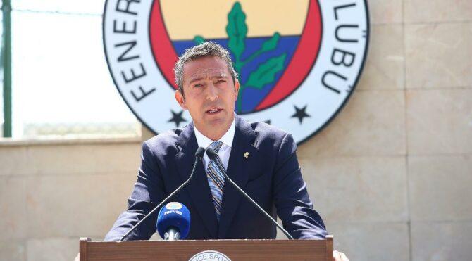 Fenerbahçe Başkanı Ali Koç'tan flaş karar! Basın toplantısı düzenlenecek